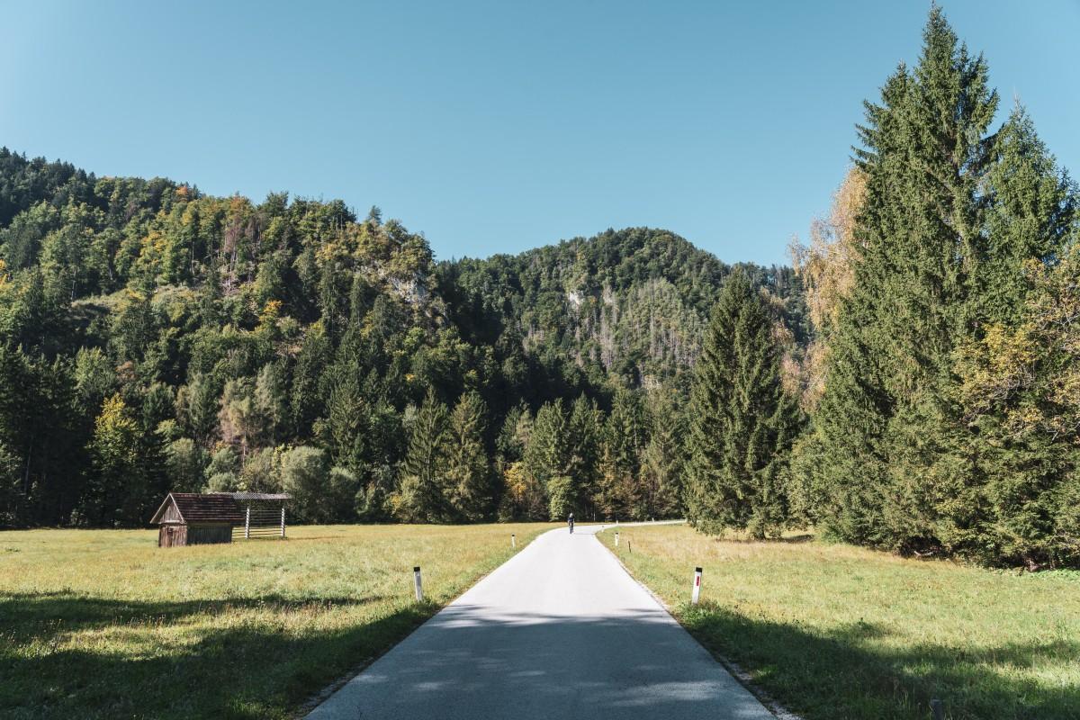 Landschaft im Triglav-Nationalpark in Slowenien