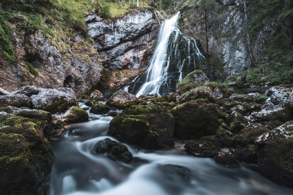 Gollinger Wasserfall im Herbst