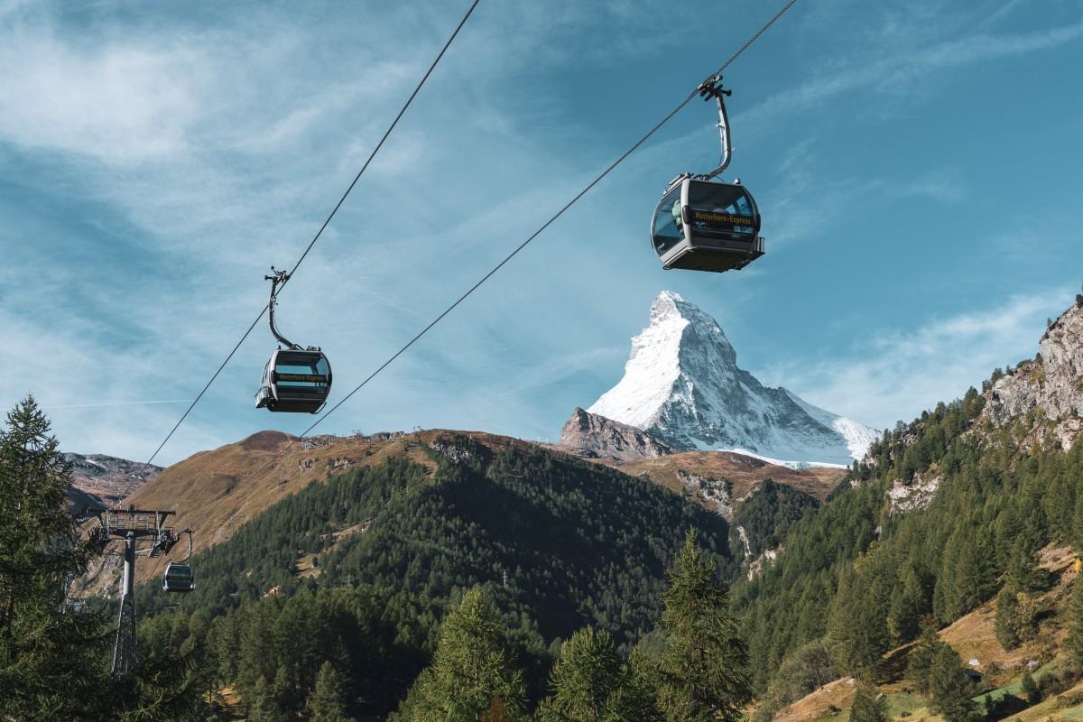 Seilbahn Matterhornexpress in Zermatt