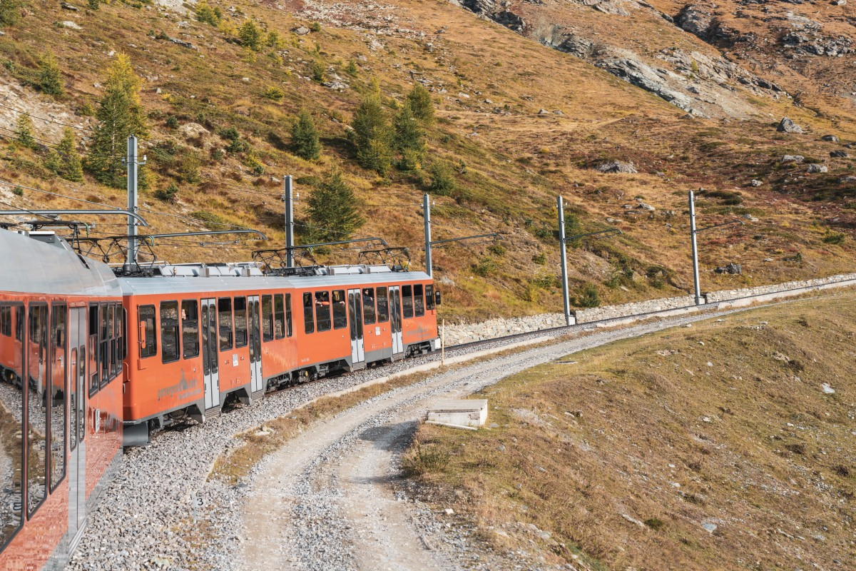 Gornergratbahn in Zermatt