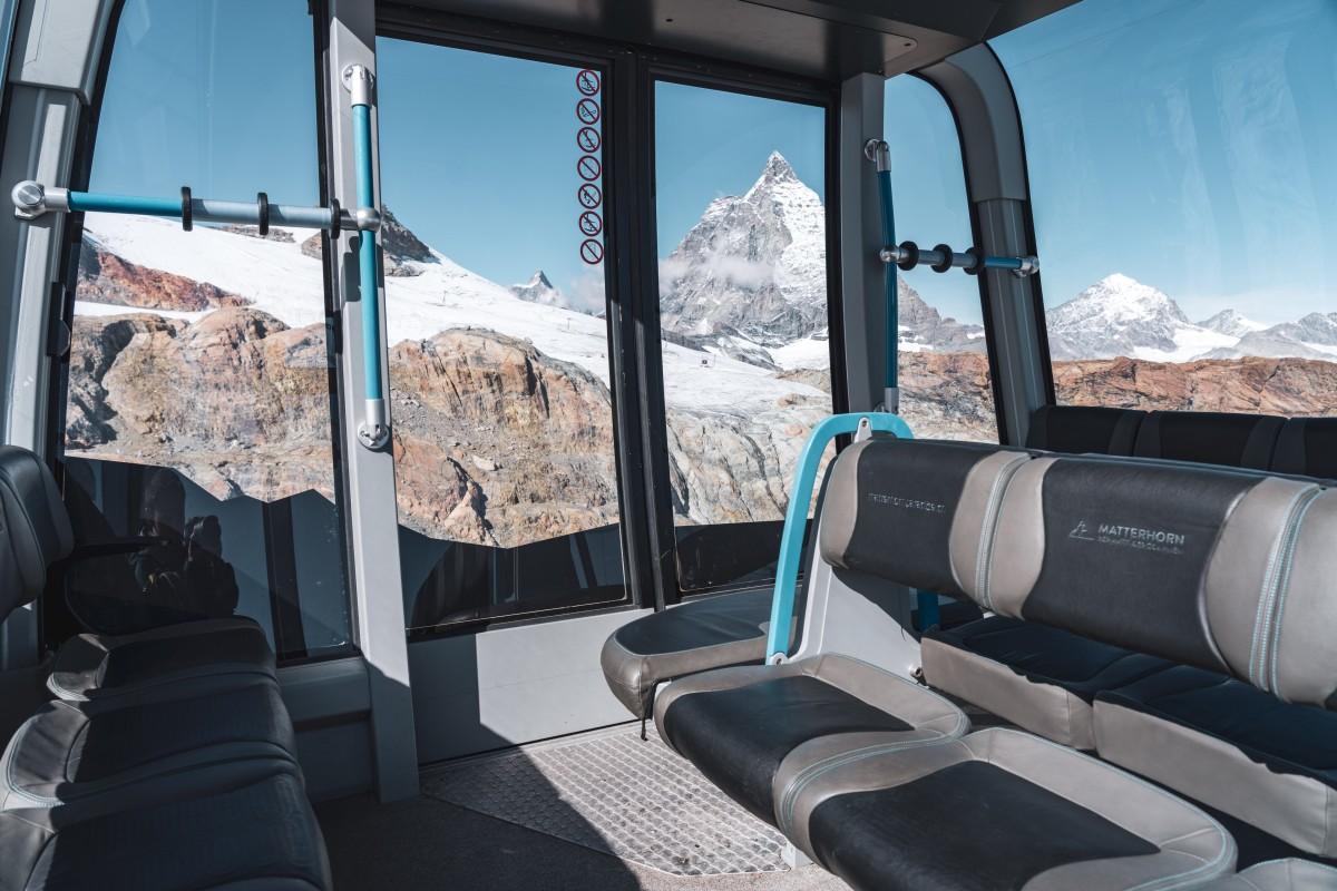 Matterhorn Glacier Ride - Seilbahn am Klein Matterhorn in Zermatt