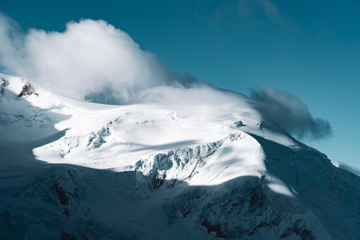 Föhnsturm am Mont Blanc du Tacul