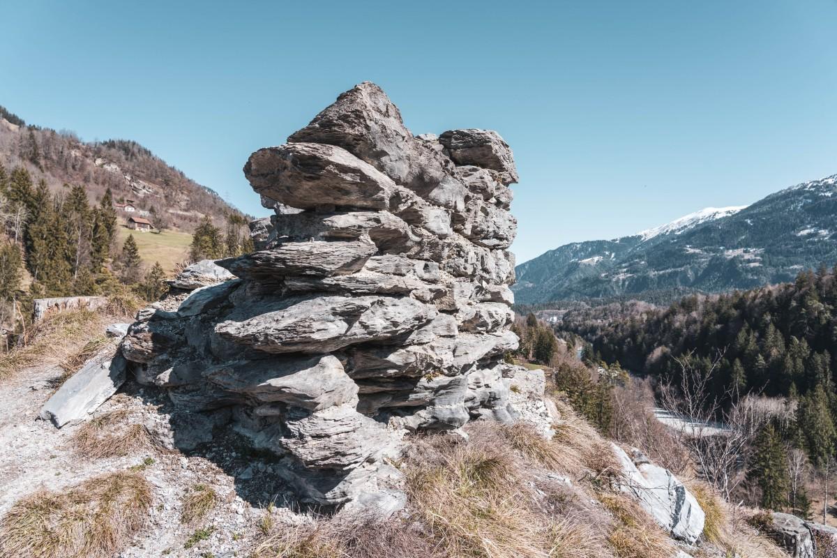 Burgruine Wackenau bei Bonaduz