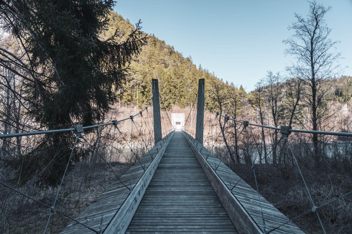 Hängebrücke Ruinaulta