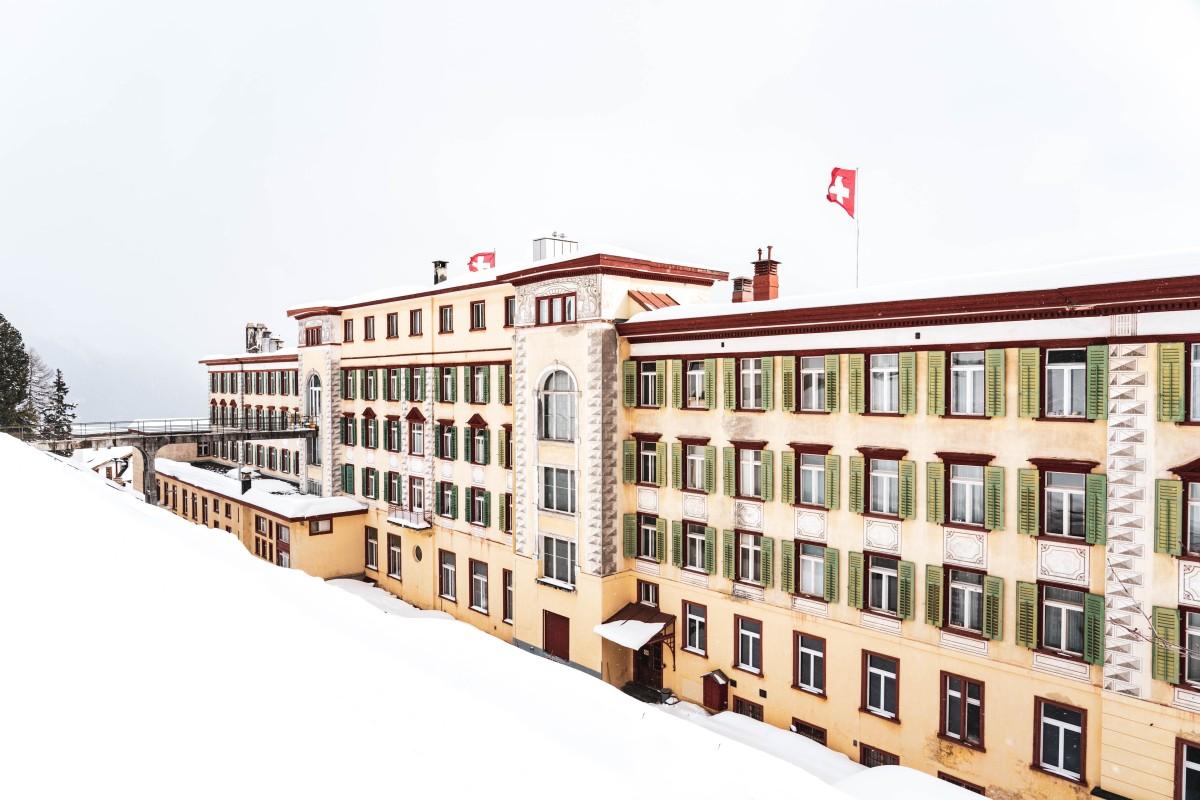 Berghotel Schatzalp in Davos