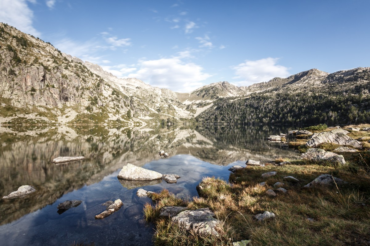 Lac d'Aubert in den Pyrenäen