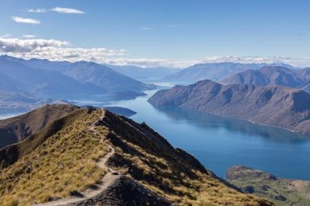 Mount Roy und Lake Wanaka, Neuseeland