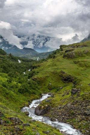 Wasserfälle in Südnorwegen