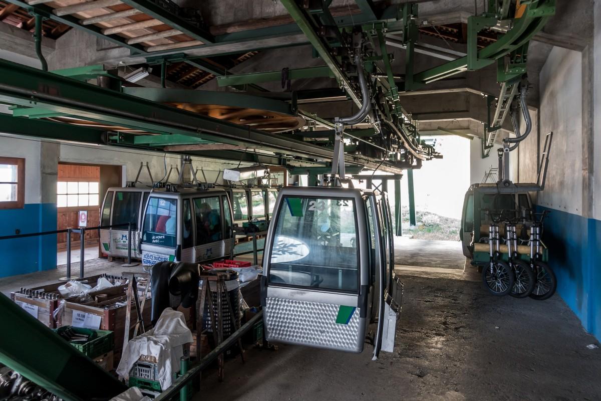 Kabinenbahn Les Marécottes - La Creusaz