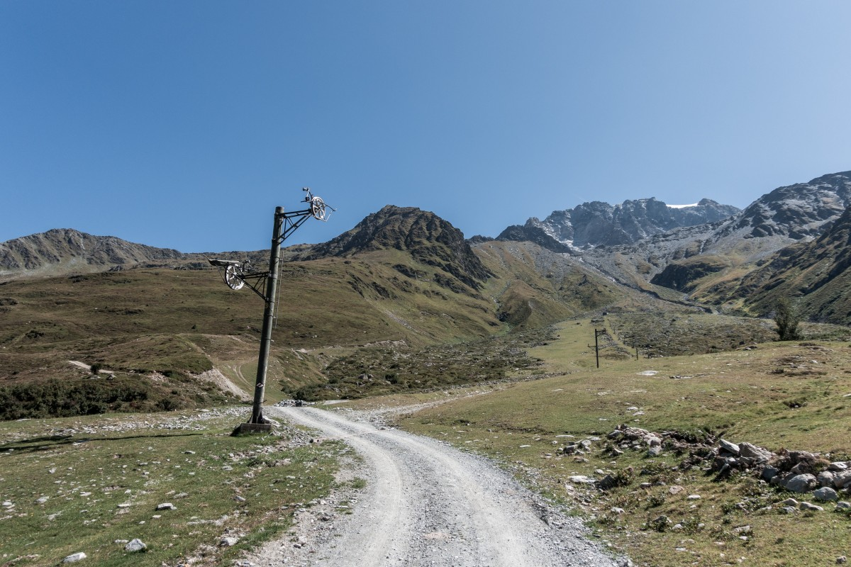 Ehemaliges Skigebiet Super Saint Bernard - Col de Menouve
