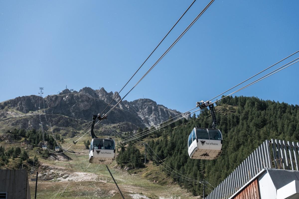 Kabinenbahn Face de Bellevarde in Val d'Isère