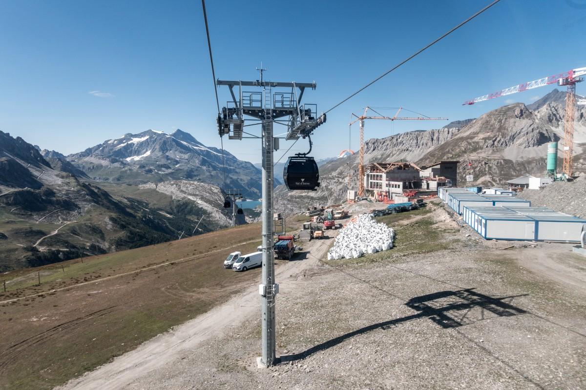 Kabinenbahn Solaise in Val d'Isère