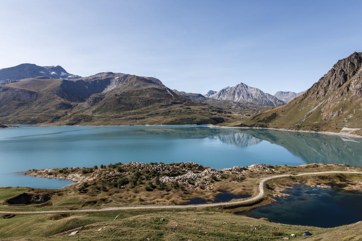Lac du Mont Cenis im Sommer
