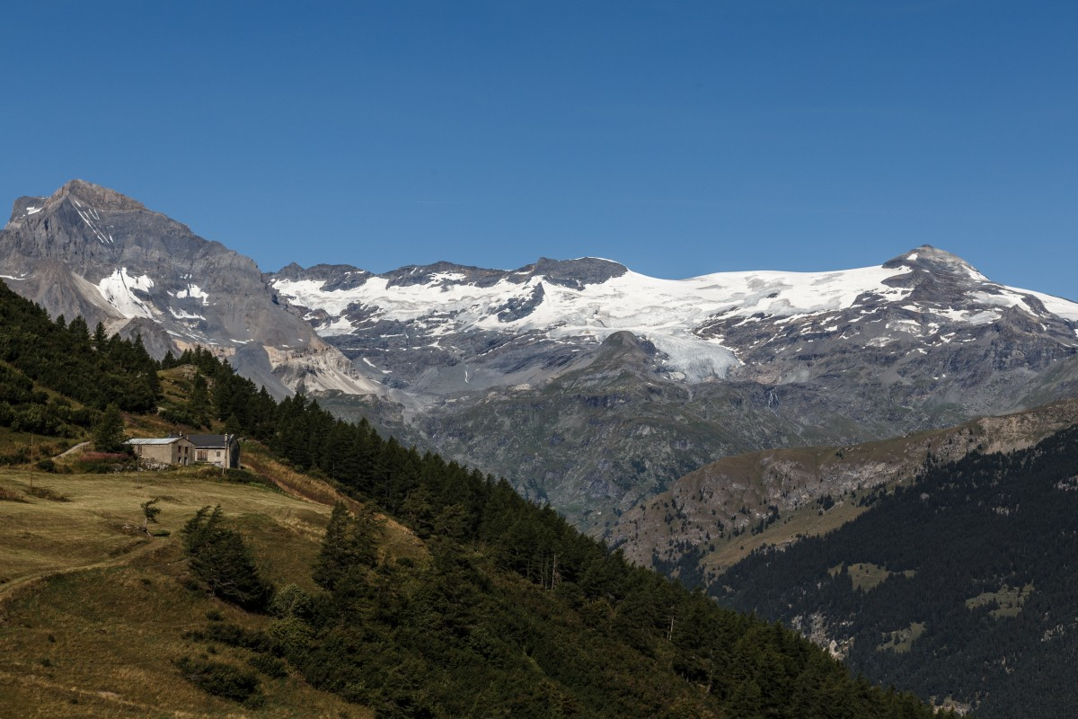 Gletscher im Nationalpark Vanoise