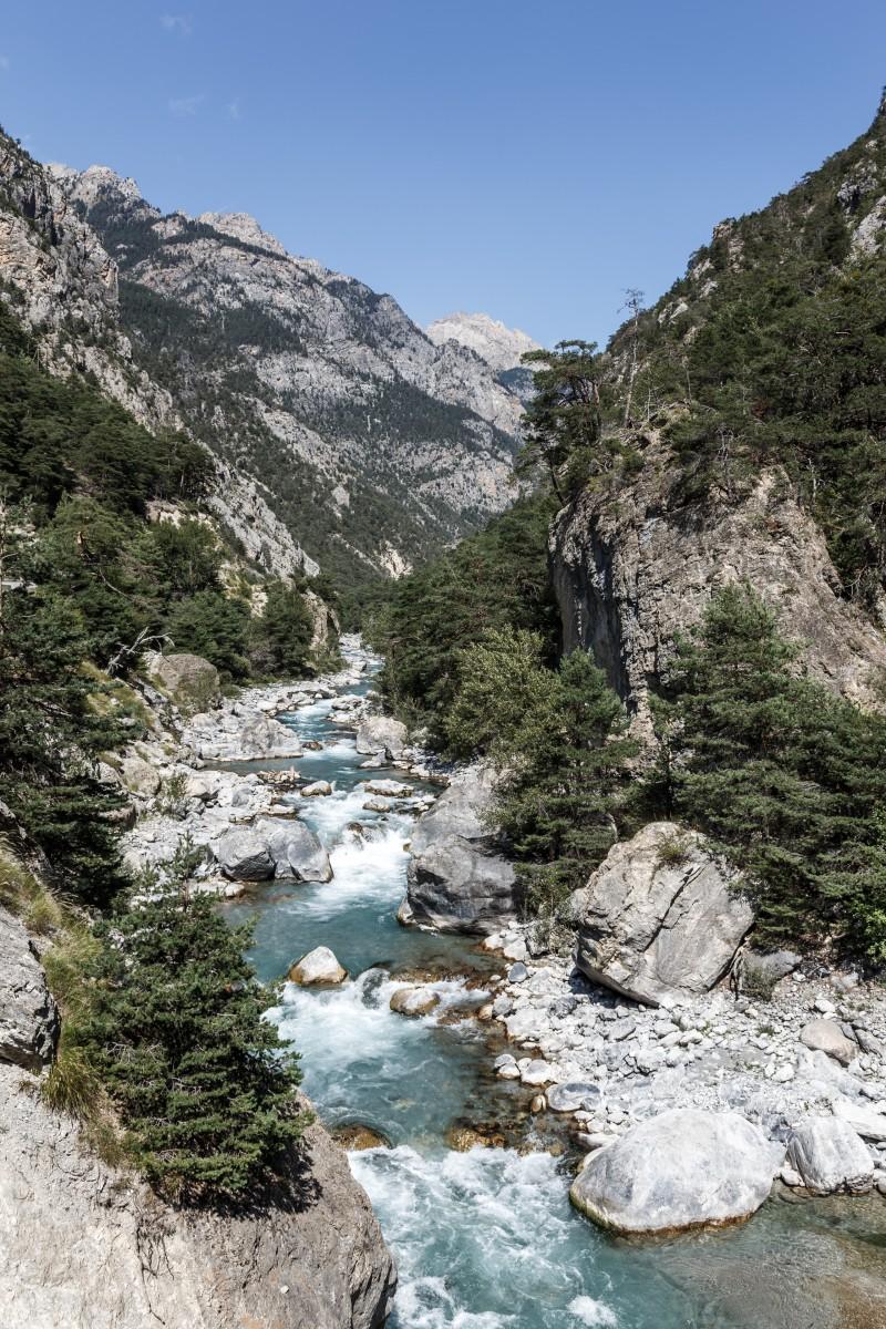 Regionaler Naturpark Queyras in den französischen Alpen
