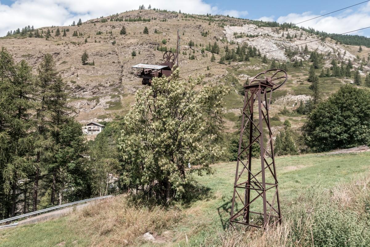 Schlepplift Chabataron in Aiguilles - Queyras