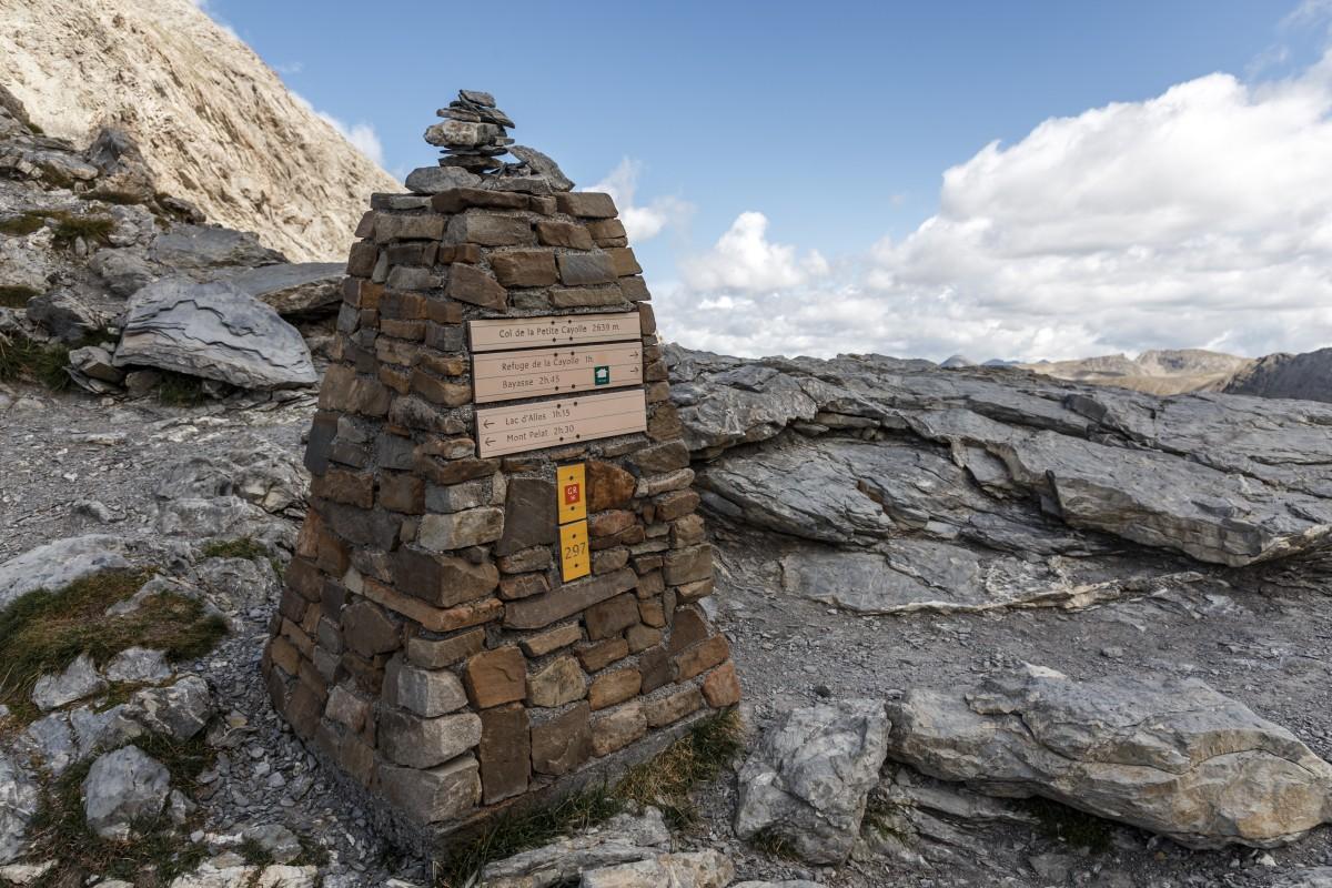 Col de la Petit Cayolle im Nationalpark Mercantour