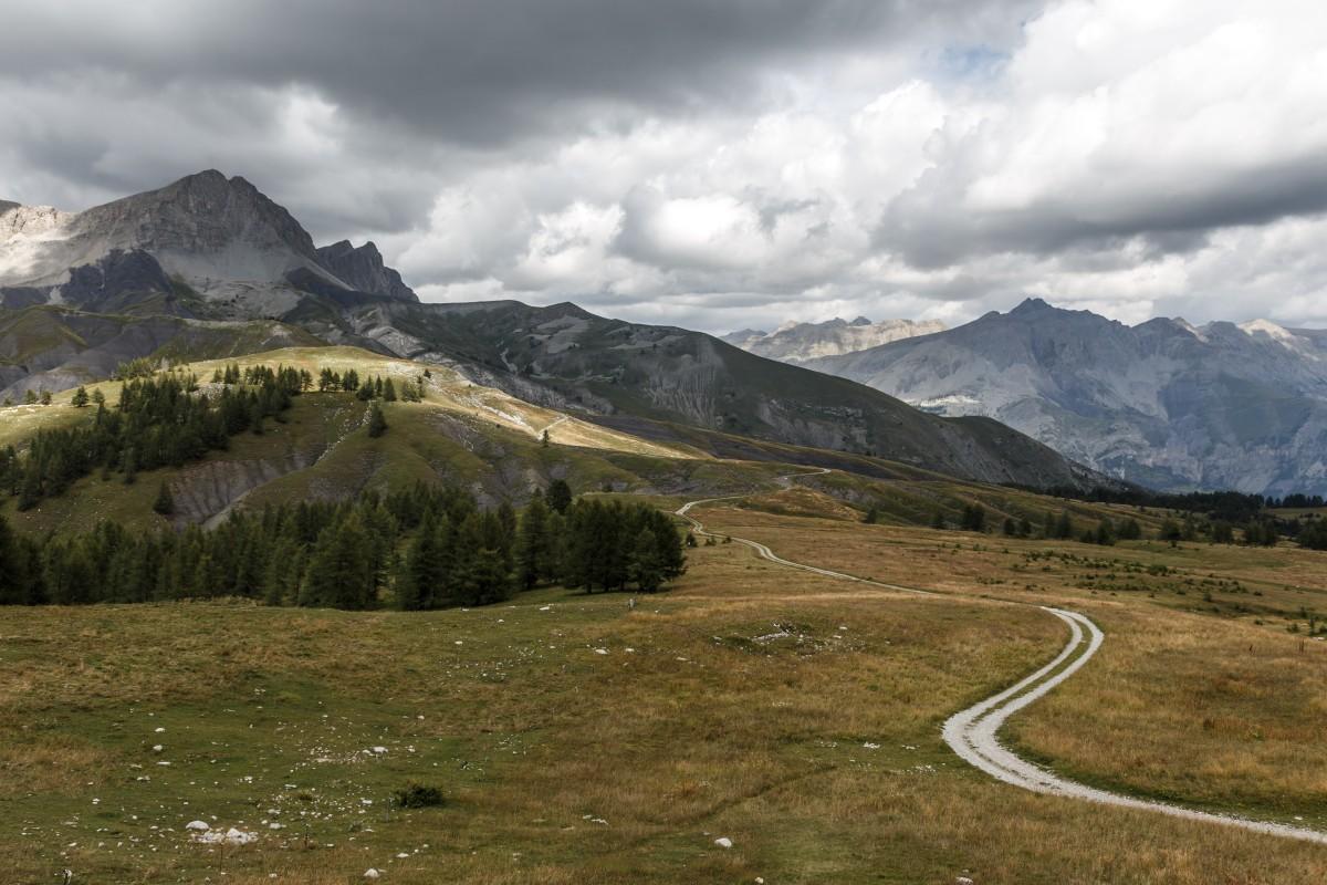 Landschaft am Col des Champs