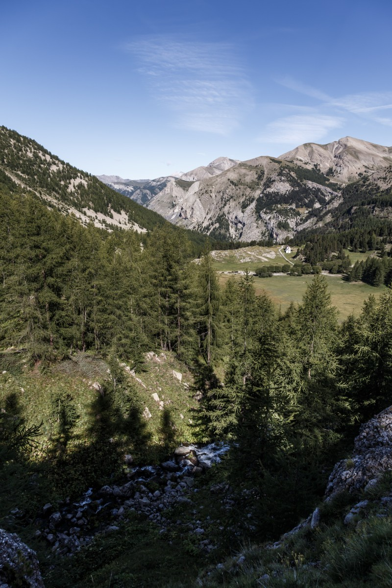 Landschaft im Nationalpark Mercantour