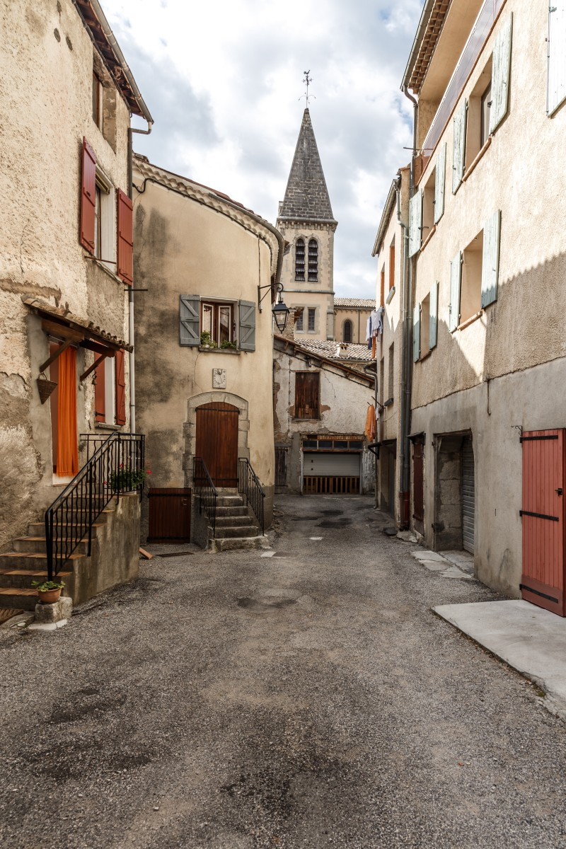 Gasse in Castellane