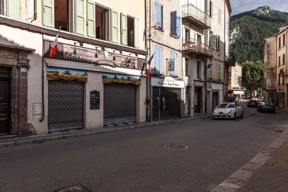 Hauptstraße in Castellane