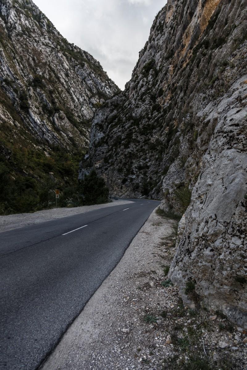 Eingang in die Gorges du Verdon bei Castellane
