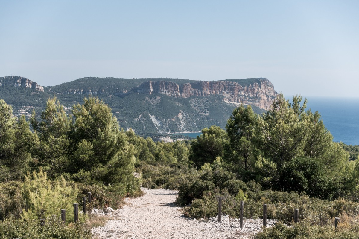 Wanderweg im Nationalpark Calanques
