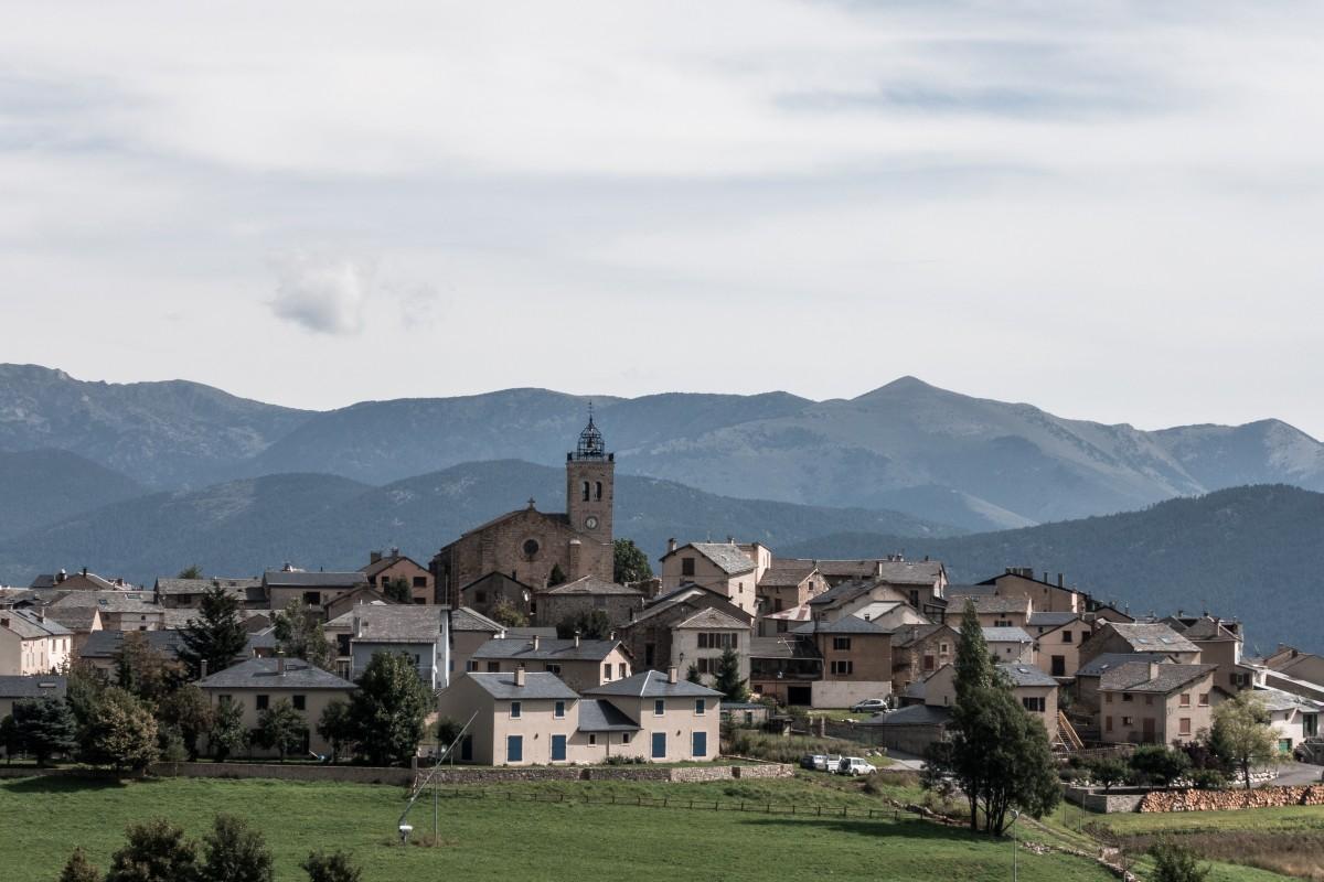 Les Angles in den Pyrenäen