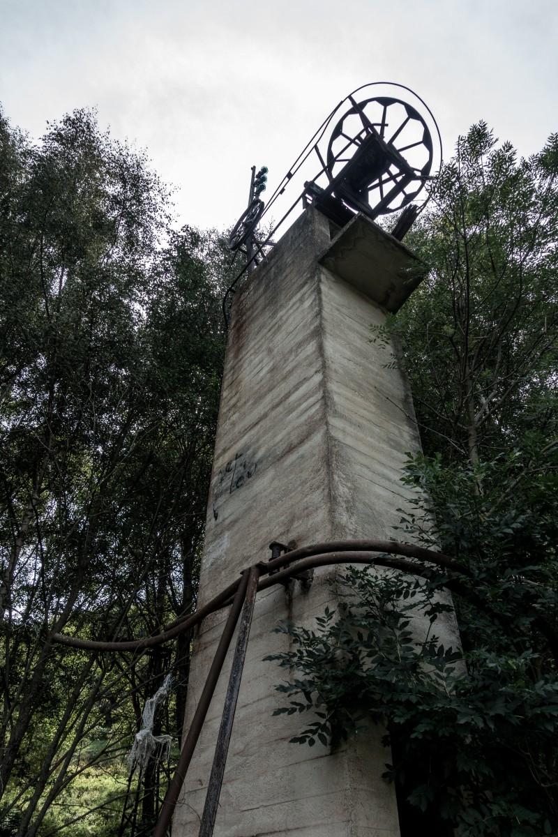 Schleppliftruine in La Cabanasse