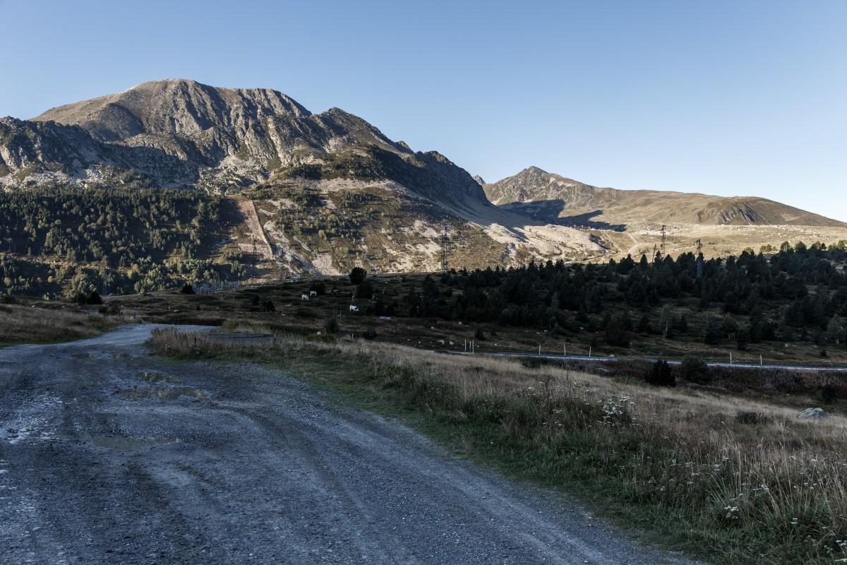 Landschaft am Col de Puymorens