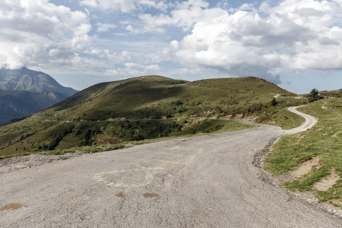 Col d'Azet in den Pyrenäen