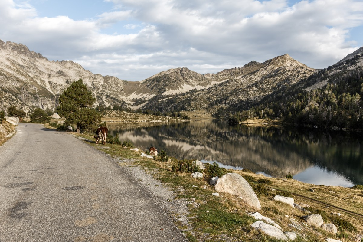 Lac d'Aumar im Nationalpark Pyrenäen