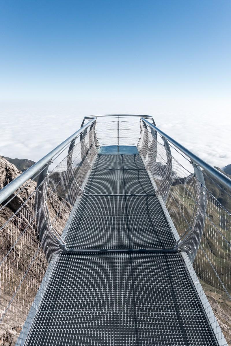 Aussichtssteg auf dem Pic du Midi