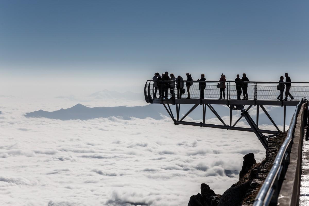 Nebelmeer auf dem Pic du Midi