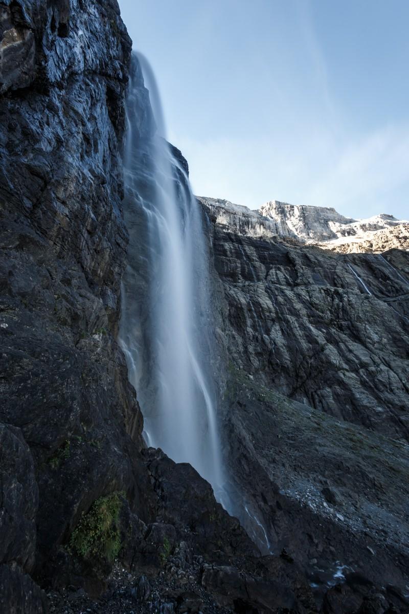 Cascade de Gavarnie im Nationalpark Pyrenäen