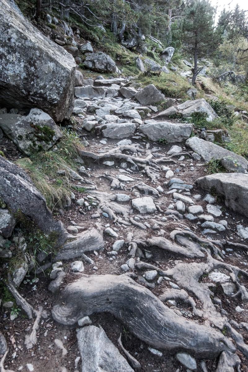 Wanderweg zum Lac de Gaube im Nationalpark Pyrenäen