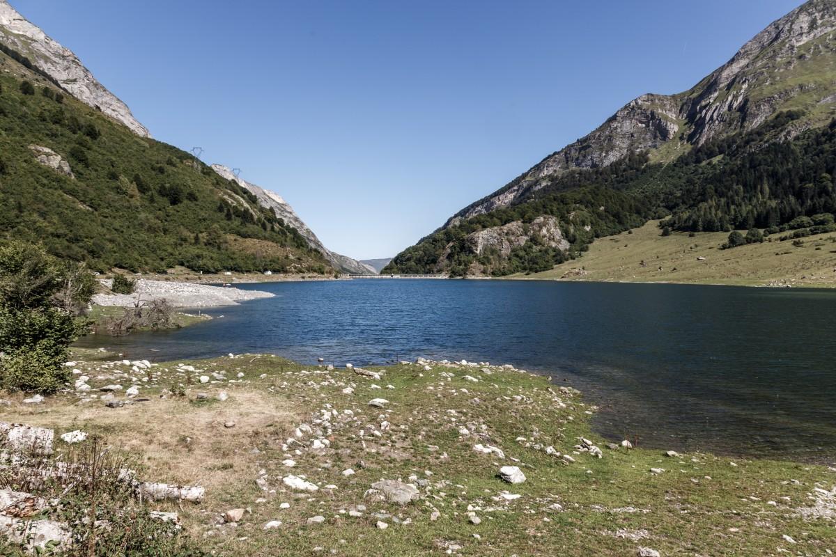 Stausee Lac du Tech in den Pyrenäen
