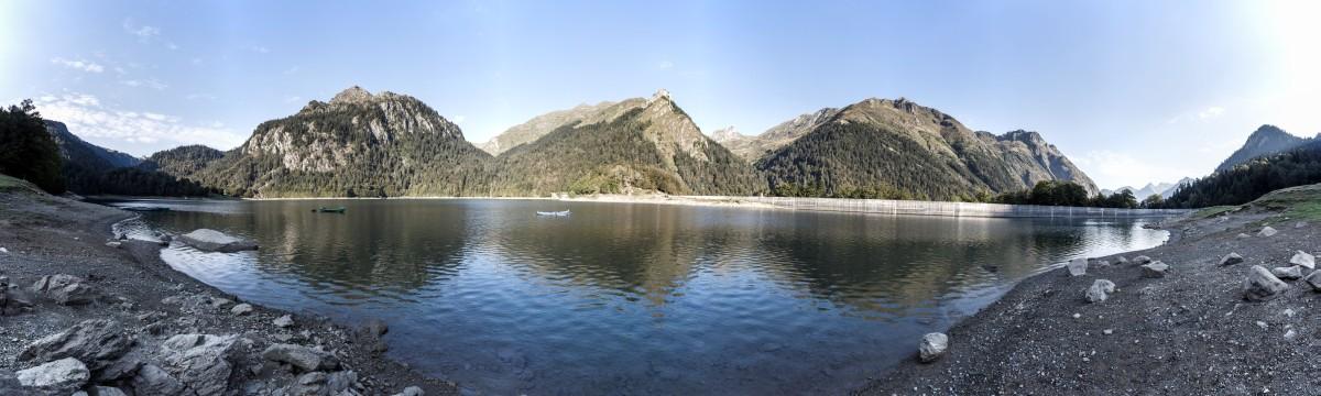 Lac de Bious Artigues im Nationalpark Pyrenäen