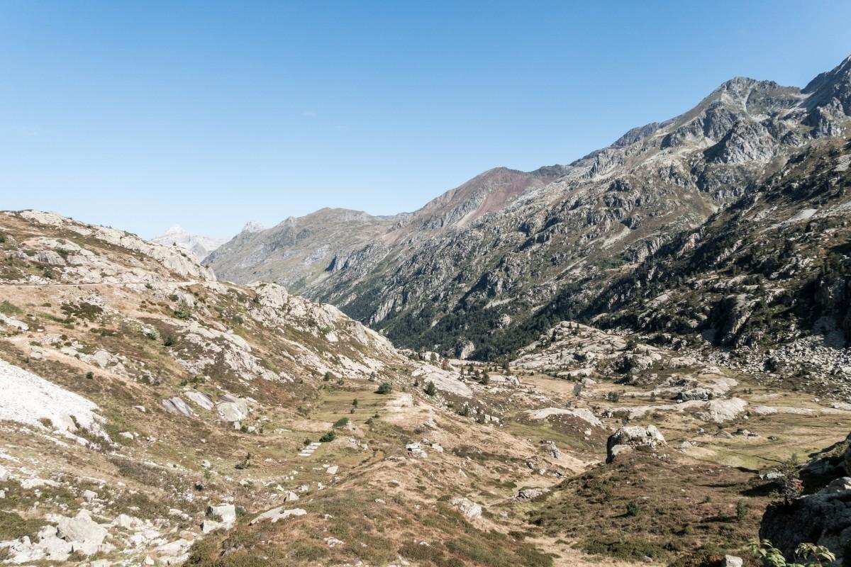 Vallée d'Ossau in den Pyrenäen