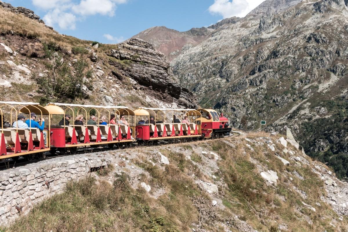 Mit dem Petit Train d'Artouste durch den Nationalpark Pyrenäen