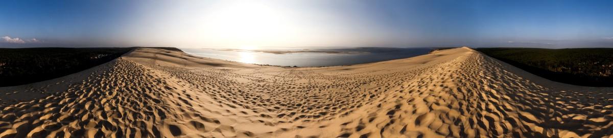 Panorama über die Dune du Pilat