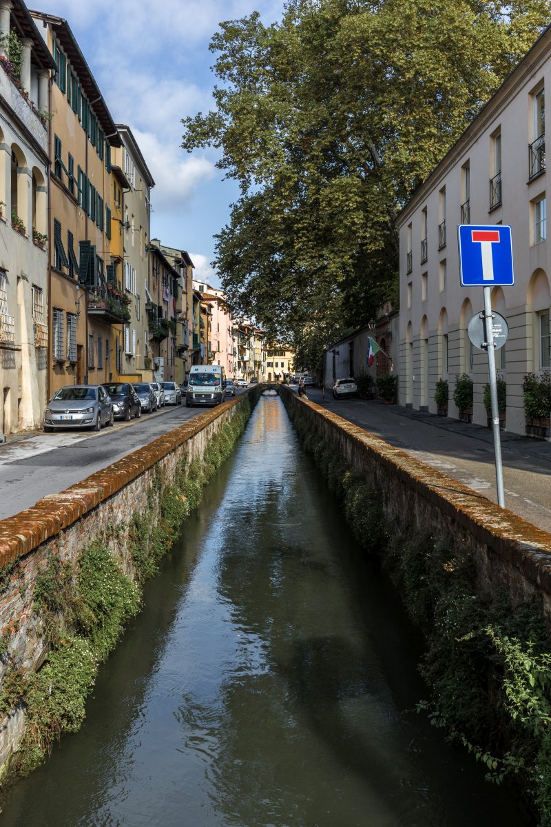 Lucca in der Toskana