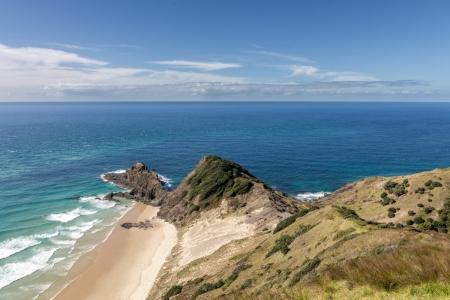 Cape Reinga mit Tasmansee und Pazifik