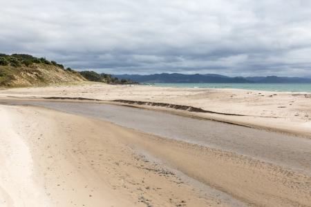 Hot Water Beach auf der Coromandel Peninsula