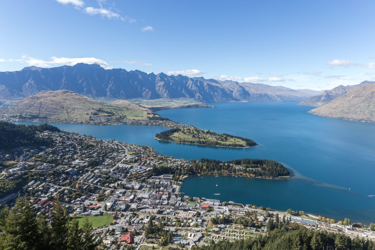 Queenstown und Lake Wakatipu