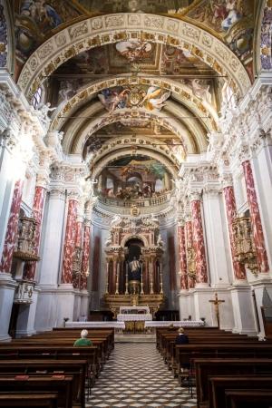 Kirche in Mondovì im Piemont