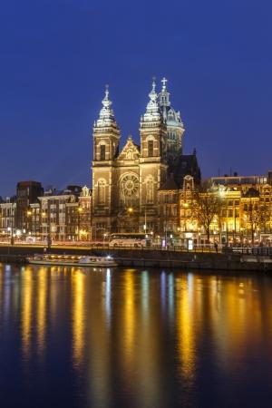 Blaue Stunde in Amsterdam