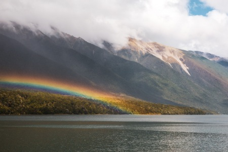 Lake Rotoiti im Nelson Lakes National Park
