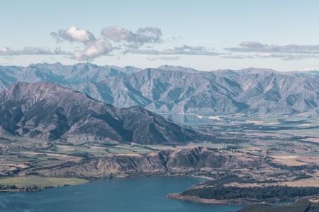 Lake Wanaka vom Mount Roy