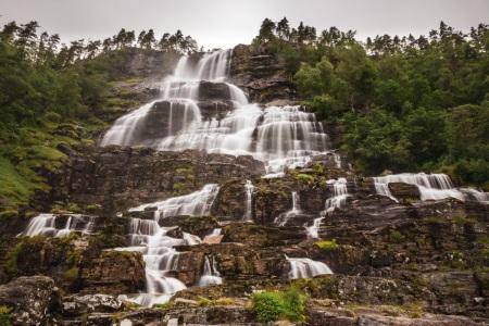 Tvinnefossen in Norwegen